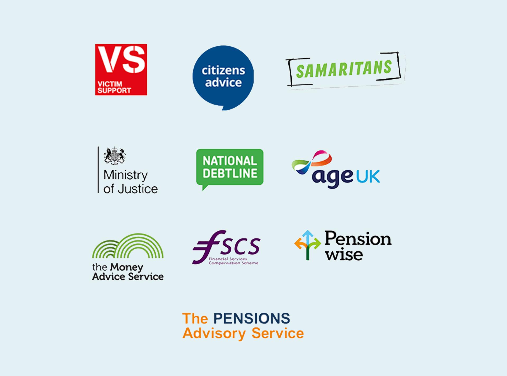 Emotional support organisations